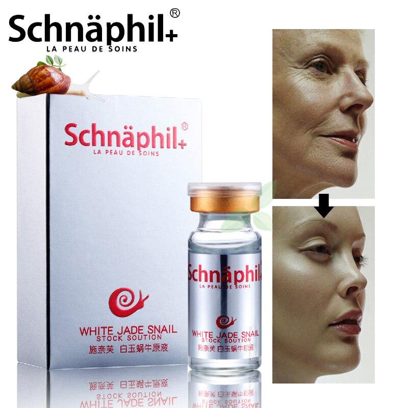 цена на High Quality Snail 100% pure plant extract Hyaluronic acid liquid whitening blemish serum ampoules anti-acne Rejuvenation Serum