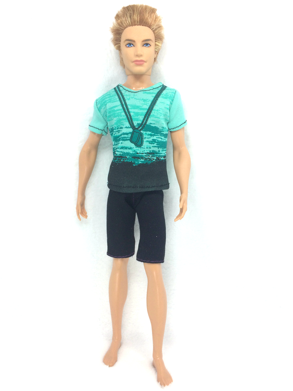 NK One Set Prince  Ken Doll's Garments Males Cool Informal Go well with Style Put on Outfit For Barbie Pal Ken Doll Greatest Reward Toys