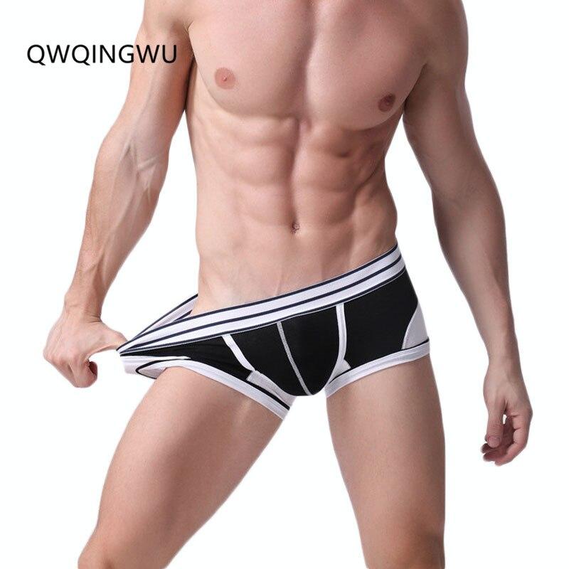Sexy Men Underwear Male Boxers Casual Mens Cotton Boxer Shorts Letter Print Underwear Men Boxers Shorts Sexy Underpants