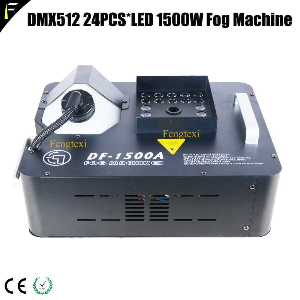 DMX512 24PCS LED 1500W Fog Machine