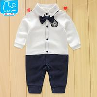 Toddler Baby Rompers Autumn Roupas Infant Jumpsuits Boy Clothing Sets Newborn Baby Clothes Spring Cotton Baby