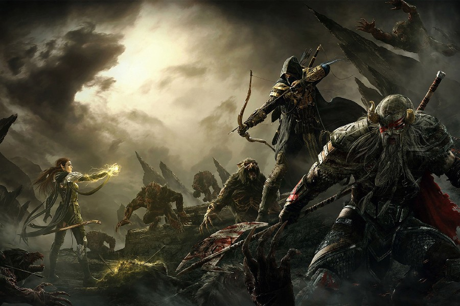 The Elder Scrolls V: Skyrim, The Elder Scrolls, Fantasy Art ...