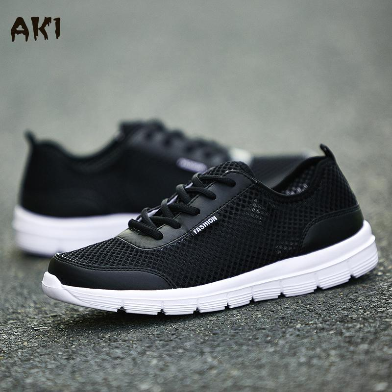 Guaranteed Odorless Man Casual Shoes Lightweight Mesh Unisex Shoes Summer Men Flat With Sport Jogging Footwear