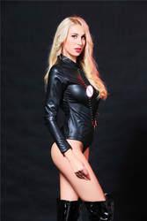 Engayi Для женщин Мода Искусственная кожа повязку латекс сексуальные костюмы Эротическое белье Нижнее белье bobydolls Lenceria порно X6640