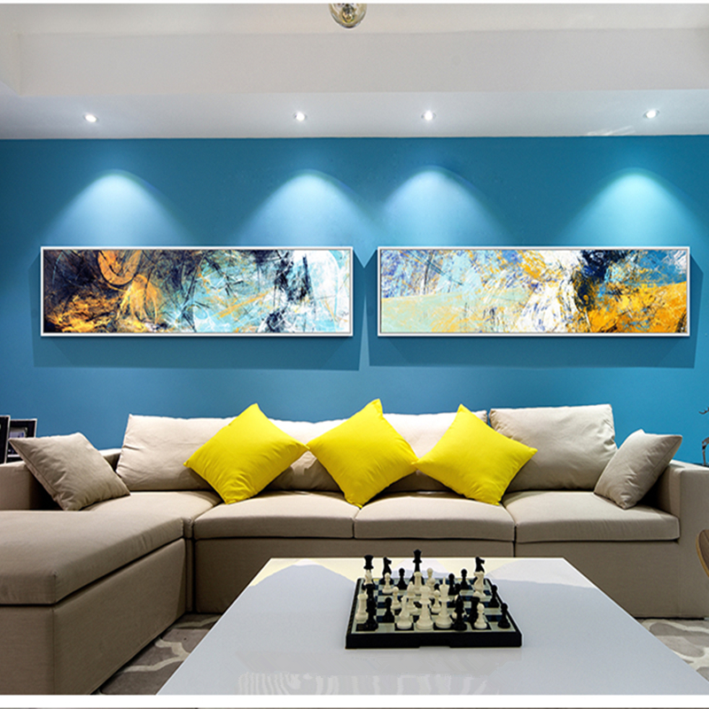 100%handmade oil Paintings on Canvas Modern Abstract Wall Art  1