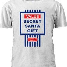3a7d0682 Value Secret Santa Gift Christmas T-shirt Baseball Men Women Unisex  Dropshipping