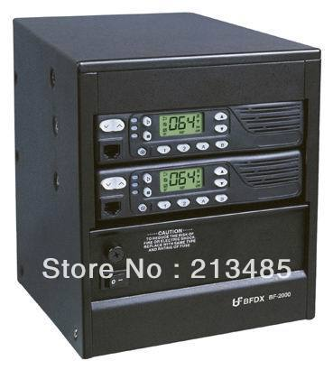 Repeater Beifeng BFDX BF-2000 VHF 150-170MHz 25Watts 99 Channel Two-way Radio Power Base Repeater With Duplexer