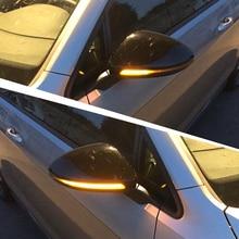 цена на OYAMARIVER Dynamic Blinker Led Turn Signal Semi-smoke For Volkswagen Rline Touran Side Mirror Light For Vw Golf Mk7 7 Gti R Gtd