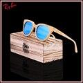 2017 homens ou mulheres polarizada Espelho De Bambu De Madeira Óculos De Sol Da Marca Designer Original Óculos oculos de sol masculino lente HD