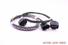 ACC Adaptive Cruise Control System Install Harness Cable Wire For Passat B6 B7 New CC 1J0 973 715 стоимость
