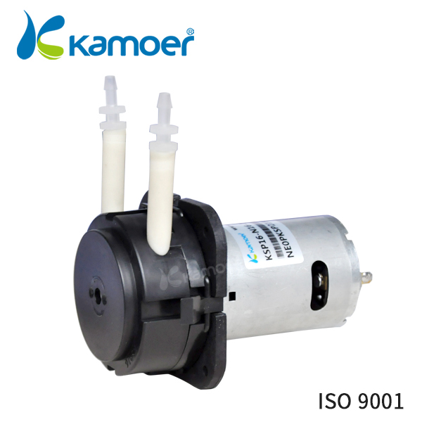 Kamoer KSP16 small peristaltic water pump 12V/24V mini electric pump micro pressure pump dosing pump with Norprene tubing kamoer kcp pro lab chemical dosing pump peristaltic pump micro water pump 24v electric pump with flow rate adjustable