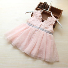 Beautiful Bow Baby Girl Dress