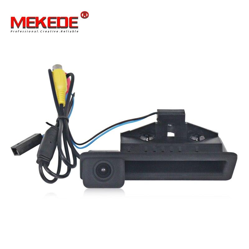 MEKEDE For BMW 3 Series E90 E91 E92/5 Series E60 E61 E63 E64/X5 E70/X6 E71/Car Rear View Camera Auto Parking Monitor