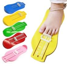 От 0 до 8 лет детские ноги измерительный прибор для дома дети длинный обуви измерительный прибор ABS с шкалой подарок 8F0006