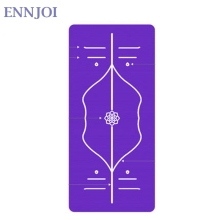 Position Line Premium mats for yoga tasteless Non-slip beginner exercises gymnastics Pilate Yoga mat 185 cm x 80 cm x 10 mm