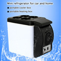 Mini Car Fridge Portable 12V 6L Auto Refrigerator Quality ABS Multi-Function Cooler Freezer Warmer for Travel Home Camping