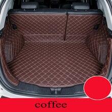 Custom car mat trunk for Nissan All Models qashqai x-trail tiida Note Murano March Teana car styling Almera custom cargo liner
