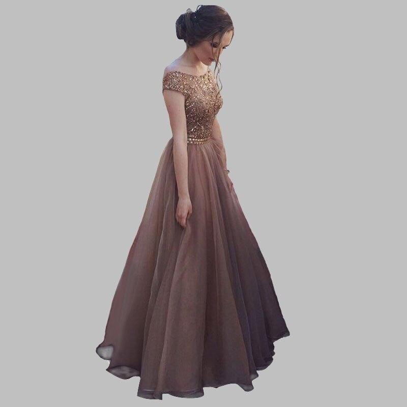 Fashion   evening     dresses   long vestido 2019   Evening   Party Sleeveless Backlessevening   dresses   Elegant Floor Length Prom Gowns