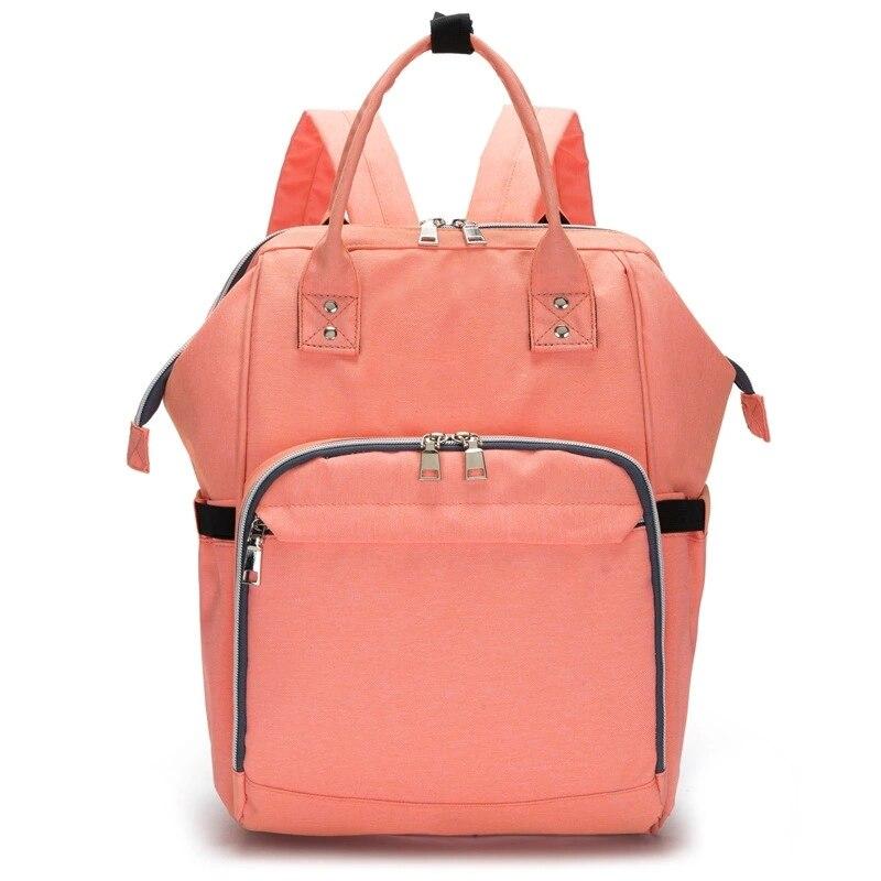 2017 New Style Diaper Bag For Women Maternal Infant Baby Nappy Bag Baby Large Multi-Pocket Women Backpack&Handbag Diaper Bags