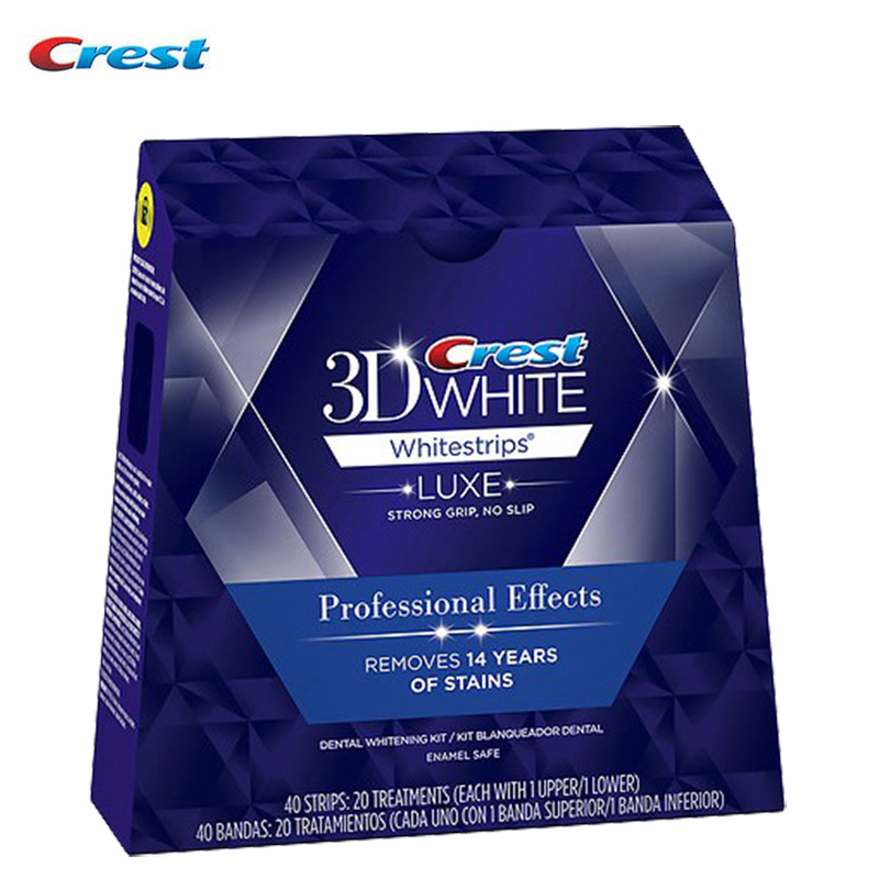Crest 3D White LUXE Whitestrips Professional Effects Toothpaste for Adult Teeth Whitening crest pro health healthy fresh toothpaste 4 7 8 oz
