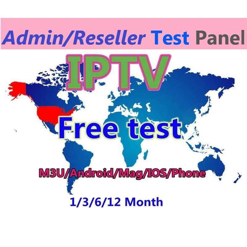 IPTV super reseller panel world 1 year IPTV subscription best stable channels adult Europe Arabic Africa Asia USA free test