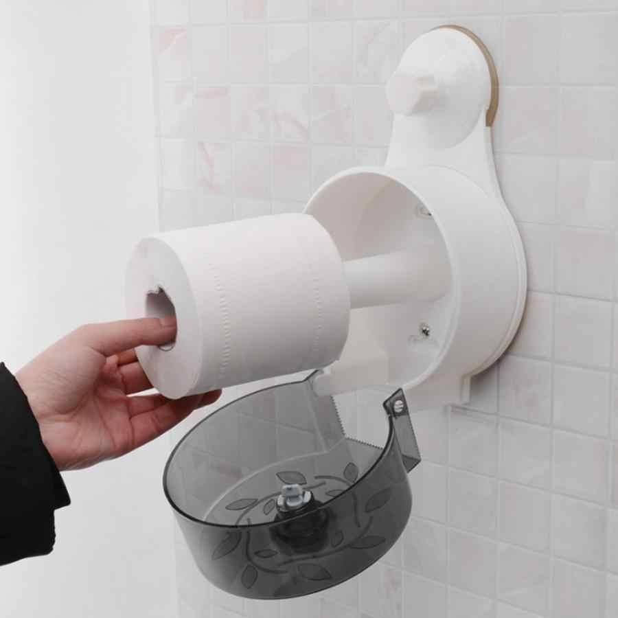 للماء المرحاض حامل الورق الملفوف موزع الالتصاق الأنسجة صندوق تخزين المطبخ بكرة مناديل حامل لوازم الحمام