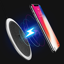 FLOVEME Qi Fast Wireless Charger for iPhone X 8 8Plus Samsung Note 8 S8 S8Plus S7
