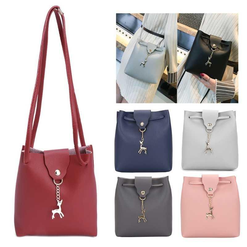 15fb132b4531 New Women Leather Handbag Shoulder Bags Crossbody Bags Tote Purse Animal  Decoration Messenger Hobo Phone Bag