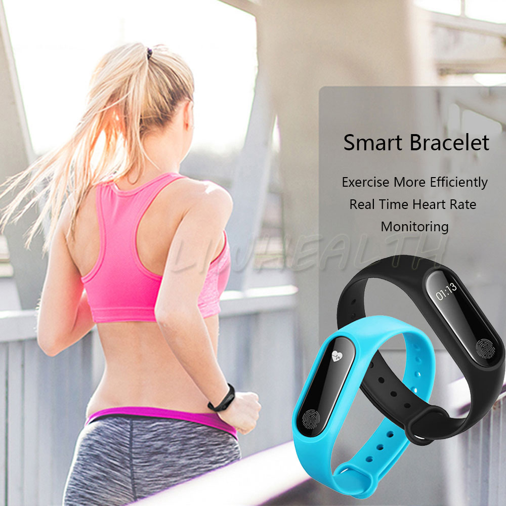 Cheap L2 Smart Fitness Bracelet Heart Rate Monitor Watch Clock Pedometer Activity Tracker For IOS/Xiaomi/Honor PK Mi Band 2/3/4 18