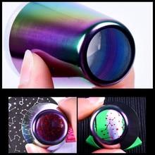 2019 легированная ручка для ногтей силиконовые штампы для ногтей 2,5*5,5*4 см желе для дизайна ногтей полый нижний штемпель для тиснения Набор скребок