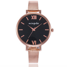 Top Brand Rose Gold Watch Women Luxury ultra-thin Mesh Stainless Steel Wrist Watches Woman Fashion Quartz Watch Ladies Clock delicate women watches ultrathin stainless steel mesh band fashion quartz wrist watch ladies watch clock wristwatches gift pt