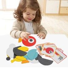 3 вида DIY игра-головоломка для детей лучший подарок высокое качество деревянная забавная игра с сумкой