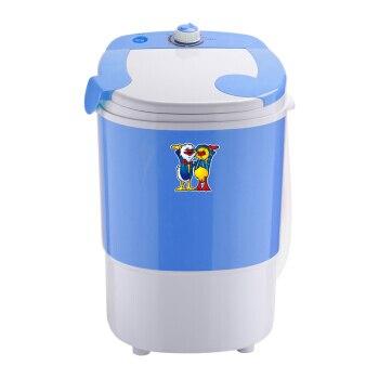2,5 Kg Mini Elektrische Waschmaschine Kleine Einzylinder Halbautomatische Professionelle Baby Kind Kleidung Waschen Auswaschung Hochglanzpoliert