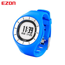 EZON couple outdoor running wearable smart devices electronic watches waterproof watch calendar alarm pedometer sports men