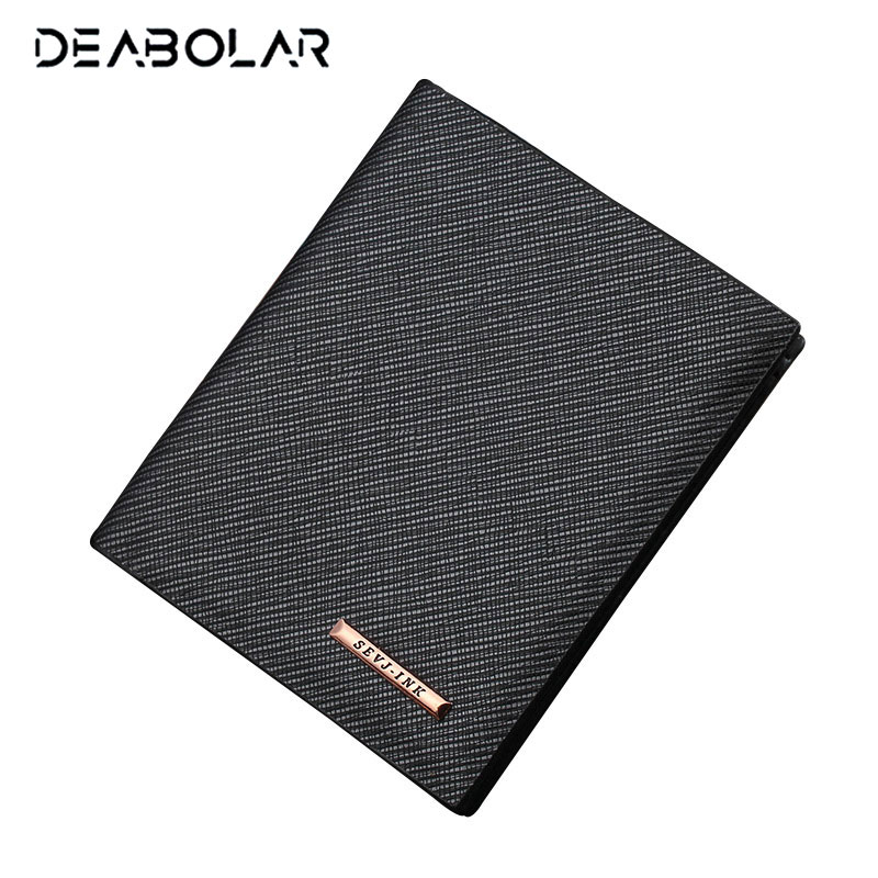 Fashion Men's Leather Wallets Male Thin Famous Brand Business Wallet Purse Clutch with Card Holder for Men bogesi men s wallets famous brand pu leather wallets with wallet card holder thin slim pocket coin purse price in us dollars