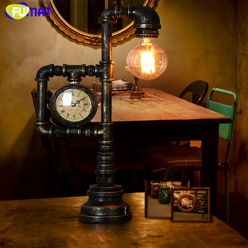 Water Pipe Table Lamp 15