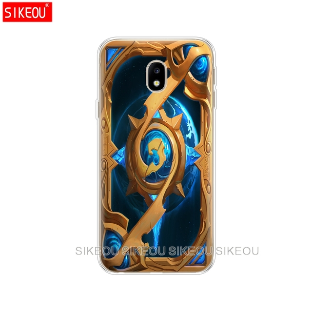 silicone cover phone case for Samsung Galaxy J3 J5 J7 2017 J330 J530 J730 PRO j2 2018 Hearthstone classic
