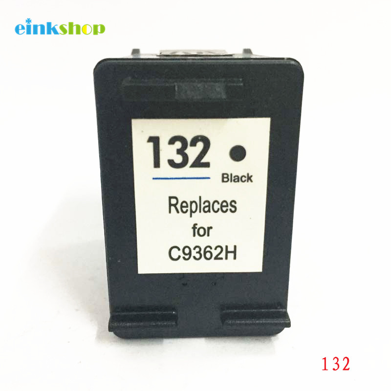 einkshop 132 Compatibele inktcartridge Vervanging voor hp 132 Photosmart C3100 C3183 C3150 PSC 1510 1513 1500 1600 6210 Printer
