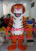 Sommer heißer verkauf!! New high quality Erwachsene tiger mit anzüge schuhe hände maskottchen kostüm-fantasie-partei kleid Halloween kostüm