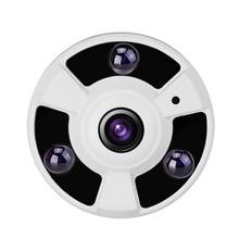 Купить с кэшбэком CCTV 2.0MP 1080P HDCVI 180 Degree Fisheye HD CVI Dome Security Camera IR Night Vision For CVI DVR