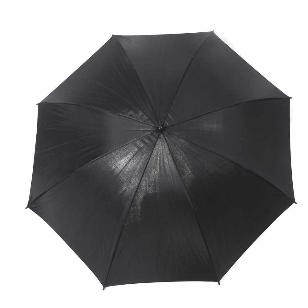 """Akcesoria fotograficzne reflektor parasol 33 """"/83 cm studio fotograficzne lampa błyskowa światła odblaskowe czarno-srebrny parasol"""