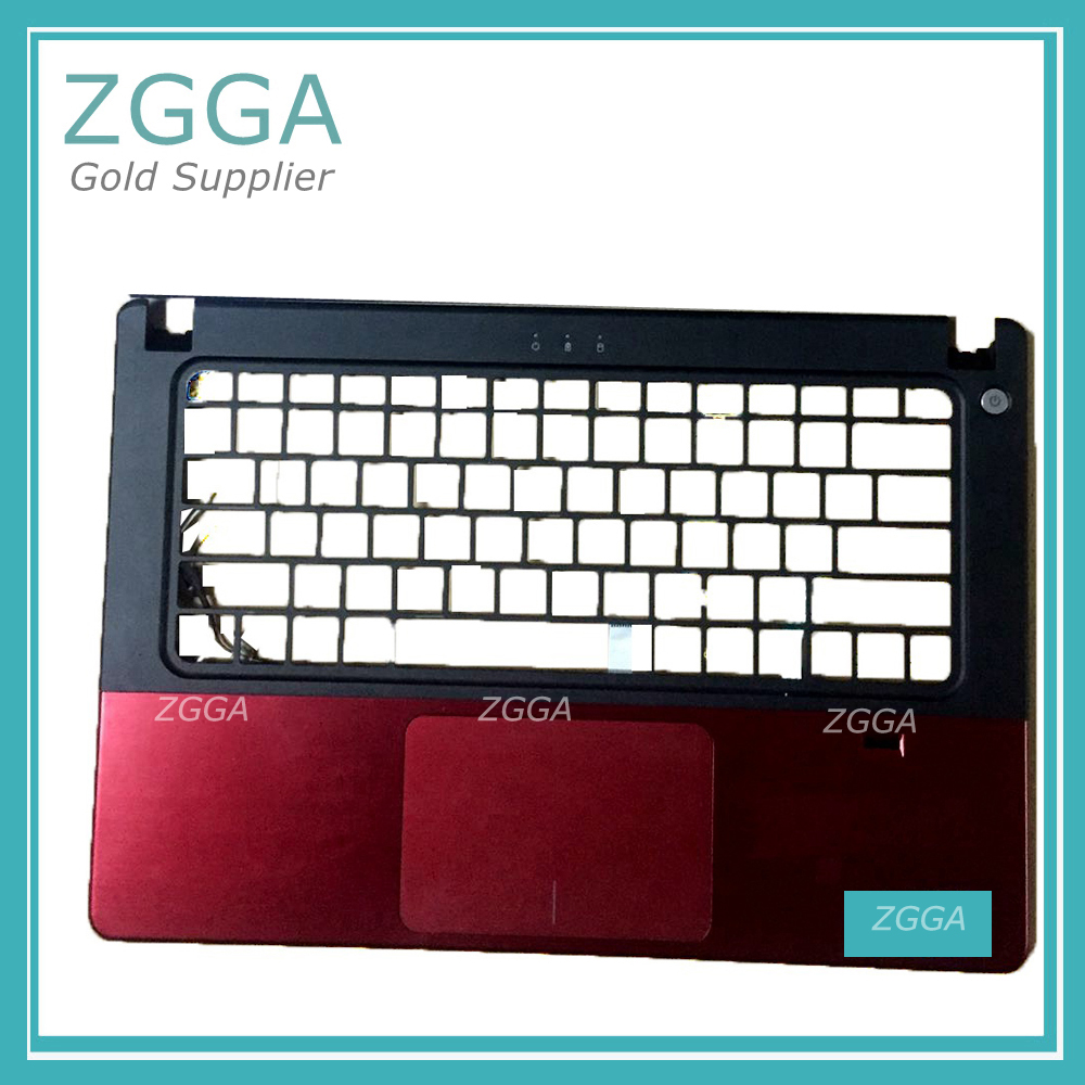цена на Original NEW Upper Case Palmrest Keyboard Bezel Laptop Cover Shell W/FPR Touchpad For Dell Vostro 5460 5470 5480 PN:VF80X YDCHK