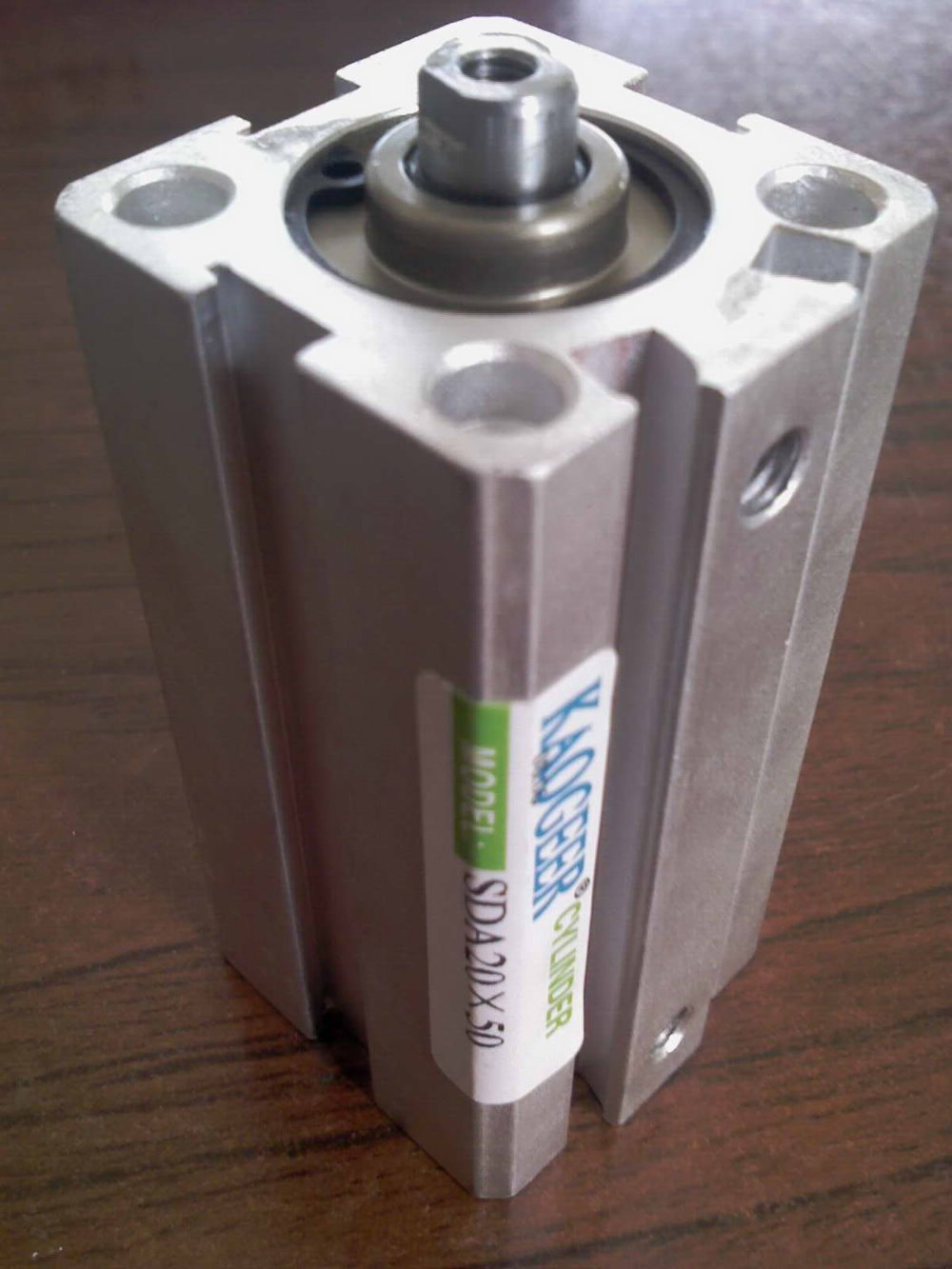 SDA Series compact Pneumatic Cylinder / air cylinder SDA32X35 rcf art7 series
