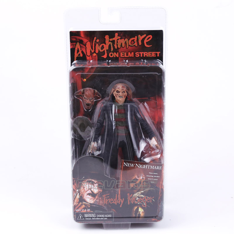 NECA a Nightmare on Elm Street New Nightmare Freddy Krueger PVC Action Figure Collectible Model Toy neca a nightmare on elm street 2 freddy s revenge 3 dream warrior freddy krueger pvc action figure collectible model toy 50cm