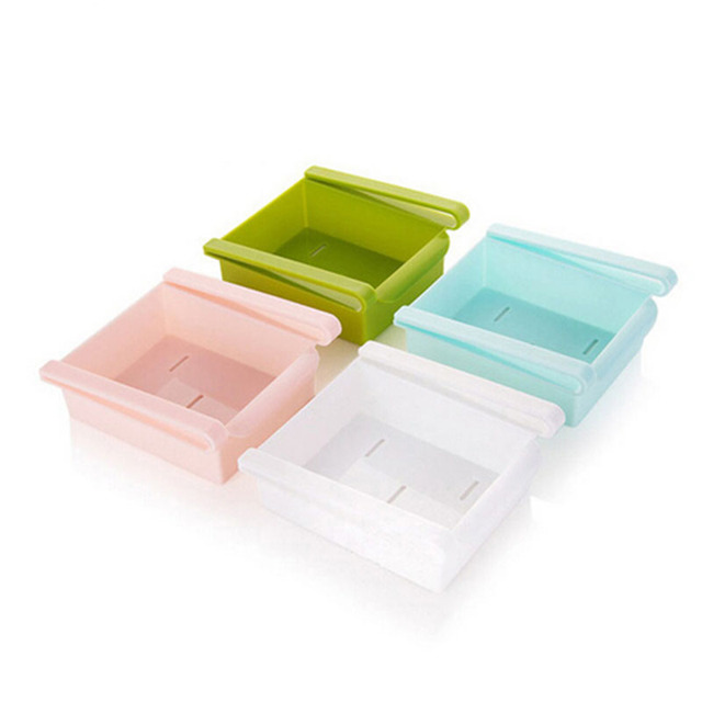 Top Quality Portable Refrigerator Container Storage Holder Box Kitchen Tools Withdrawing Hanging Drawer