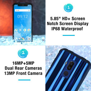 "Image 4 - Ulefone Armor 5 مقاوم للماء IP68 NFC 5.85 ""HD + الهاتف المحمول MT6763 Otca Core أندرويد 8.1 4GB + 64GB اللاسلكية تهمة الوجه معرف 5000mAh"
