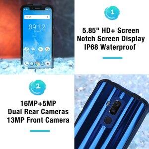 "Image 4 - Ulefone zırh 5 su geçirmez IP68 NFC 5.85 ""HD + cep telefonu MT6763 octa çekirdekli Android 8.1 4GB + 64GB kablosuz şarj yüz kimliği 5000mAh"