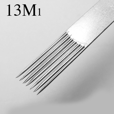 13M1 tattoo needle 50pcs/box free shipping,sterilized tattoo needle supplie wholesale Magnum