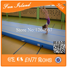 Free Shipping 15x2m China Supplier yoga Mat Floor Mat Gymnastics Air Track Factory Inflatable Air Track For Sale With Pump