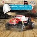 Mejores niños de juguete WLtoys L343 Coche Del RC 1/24 2.4G 2WD RTR Monster Truck RTR RC Eléctrico Cepillado